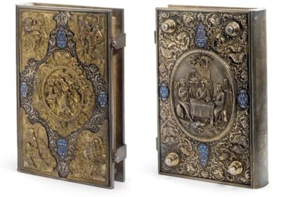 A BOOK OF GOSPELS COMMISSIONED