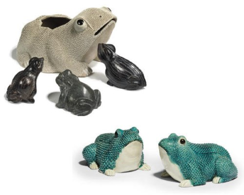 A GROUP OF MODELS OF FROGS