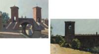 Comacchio; and Monastery near Todi