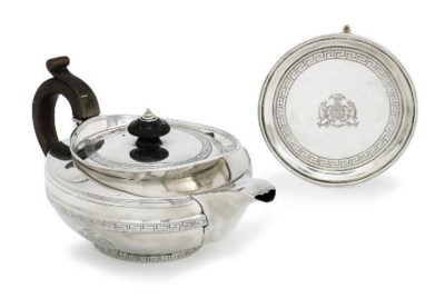 A GEORGE III SCOTTISH SILVER T