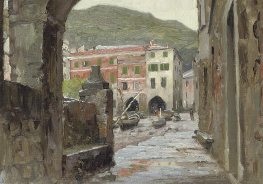 The Archway, Vernazza, October 1907
