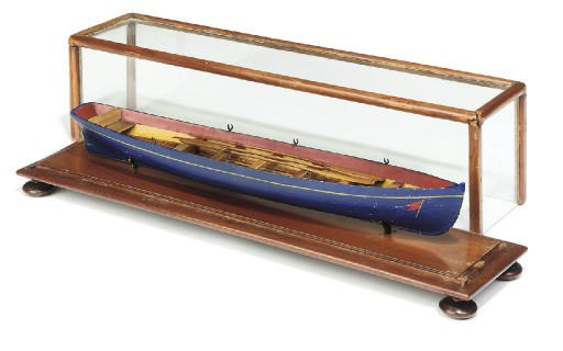 AN EARLY VICTORIAN MODEL OF A