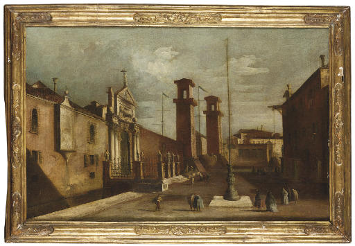 Circle of Francesco Guardi Ven