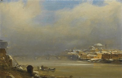 Attributed to Ippolito Caffi (