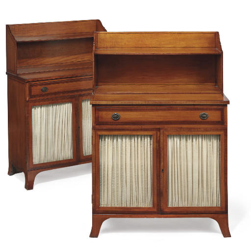 A PAIR OF VICTORIAN SATINWOOD