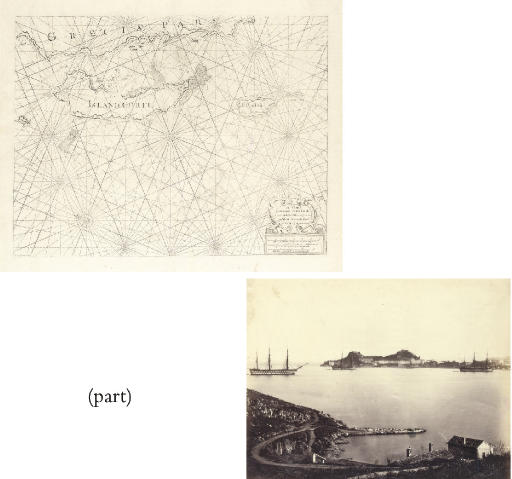 A Chart of the Islands Corfu, Pachsu and Antipachsu, London circa 1750.