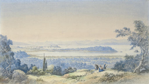 View of Corfu from the south