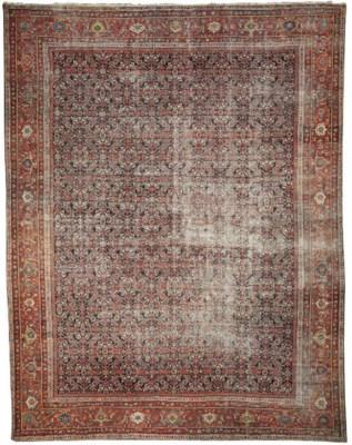 A FEREGHAN CARPET, WEST PERSIA