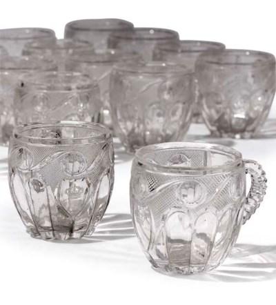 A ROYAL-CRESTED ENGLISH GLASS