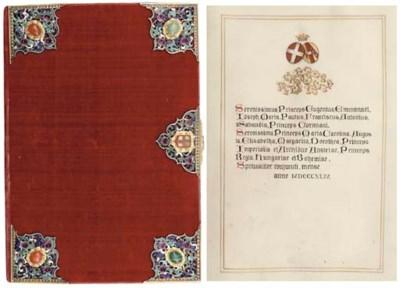 ROYAL MARRIAGE MISSAL OF PRINC