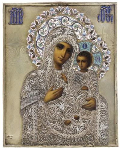 THE MOTHER OF GOD OF TIKHVIN