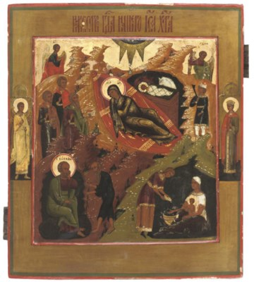 THE NATIVITY OF CHRIST WITH TW