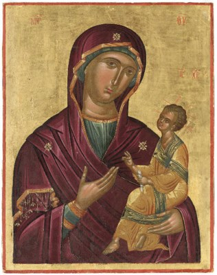THE HODEGETRIA MOTHER OF GOD