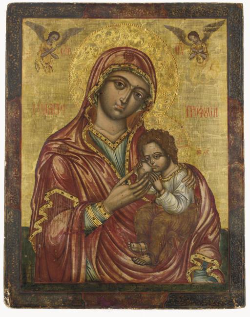 THE NURSING MOTHER OF GOD