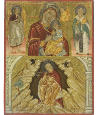 THE MOTHER OF GOD WITH SELECTE