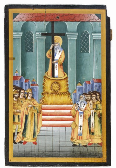 THE EXALATION OF THE CROSS