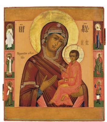 THE MOTHER OF GOD OF TIKHVIN W
