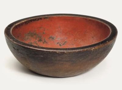 A large Negoro bowl