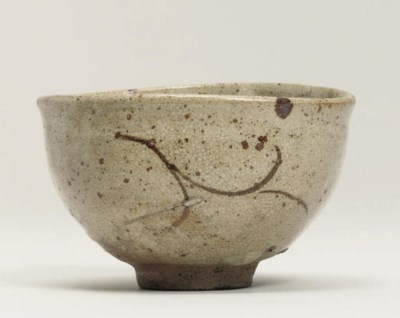 A Karatsu chawan [tea bowl]