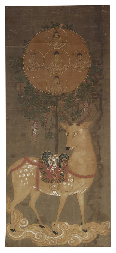 A buddhist painting