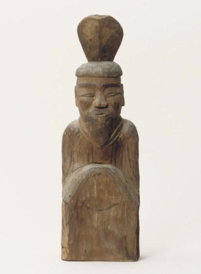 A Shinto sculpture