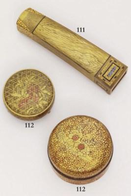 Two lacquer kogo [incense box]