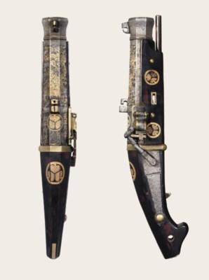 A matchlock pistol