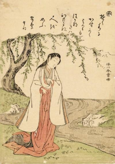 KATSUKAWA SHUNSHO (1726 - 1792