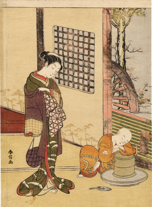 SUZUKI HARUNOBU (1724 - 1770)