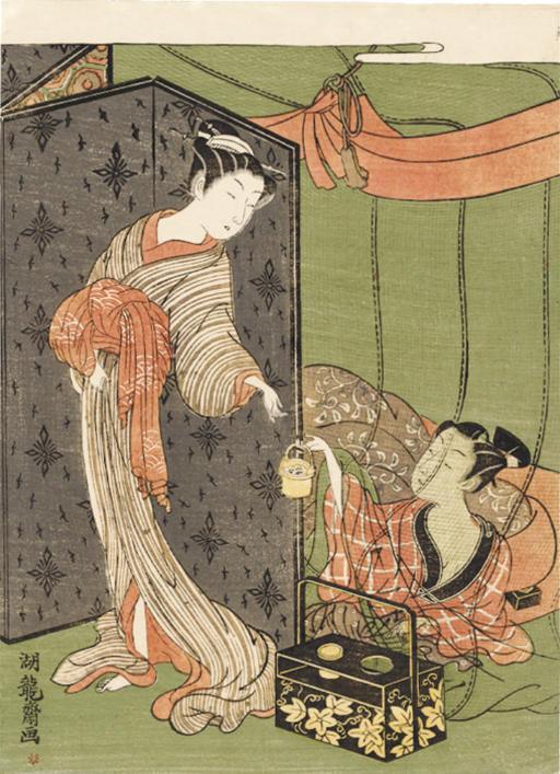 ISODA KORYUSAI (Fl. C 1764 - 1