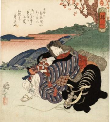 UTAGAWA KUNIMARU (1794 - 1829)