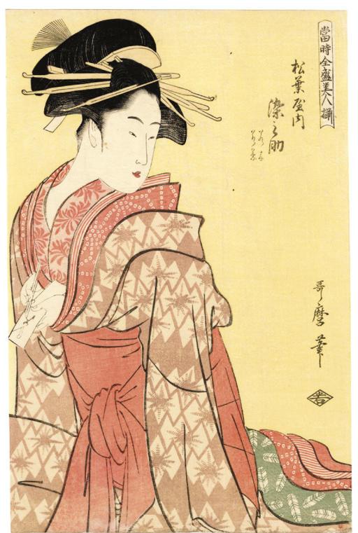 KITAGAWA UTAMARO (1754 - 1806)