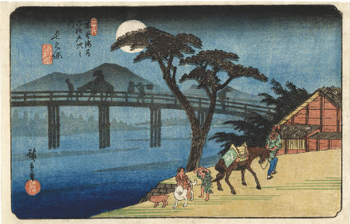UTAGAWA HIROSHIGE (1797 - 1858