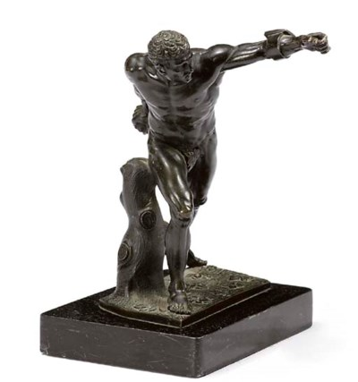 A FRENCH BRONZE MODEL OF THE B