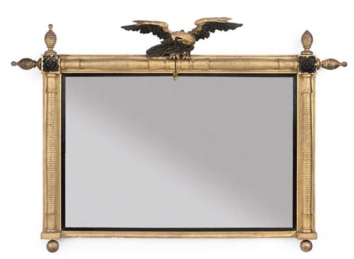 AN LATE REGENCY GILTWOOD AND E