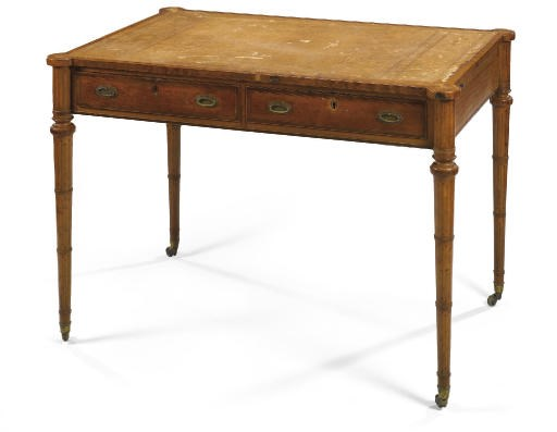 A LATE VICTORIAN SATINWOOD, SY