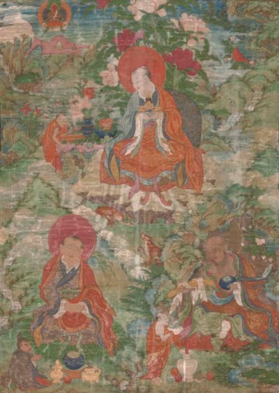 A Tibetan Thangka, 18th Centur