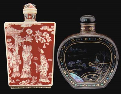 Two snuff bottles, 19th/20th C