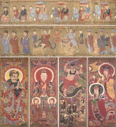 A series of thirteen Chinese p