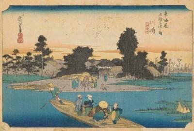 Hiroshige (1797-1858), oban yo