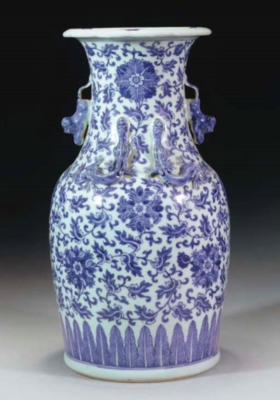 A Cantonese blue and white bal