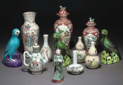 A COLLECTION OF CHINESE PORCEL