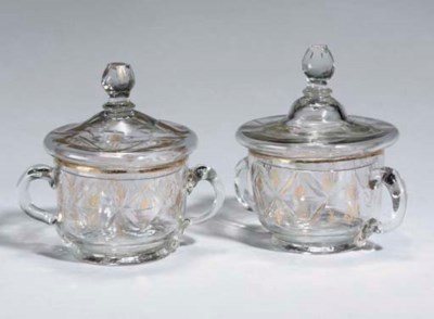 A PAIR OF BEYKOZ CLEAR GLASS C