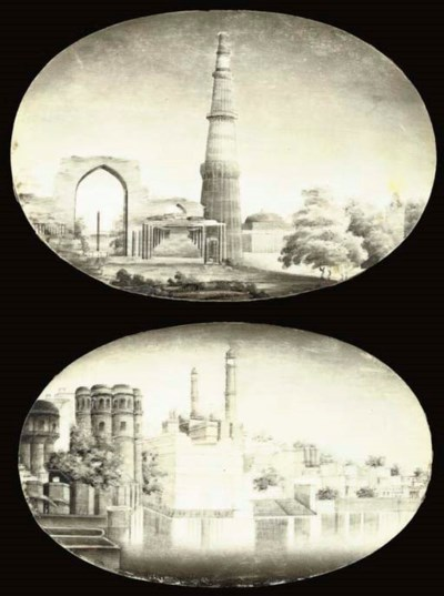 FIVE VIEWS OF INDIAN MONUMENTS