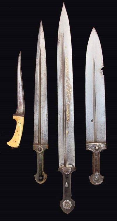 A GROUP OF CAUCASIAN DAGGERS,