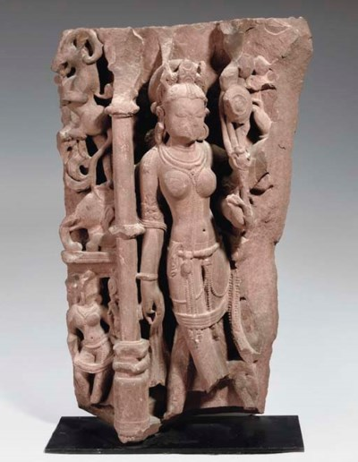 A CENTRAL INDIAN RED SANDSTONE