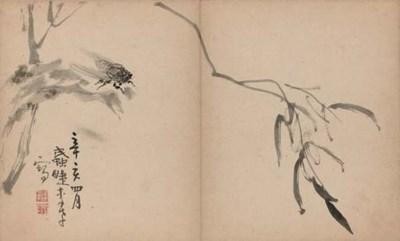 A Chinese album, 19th century