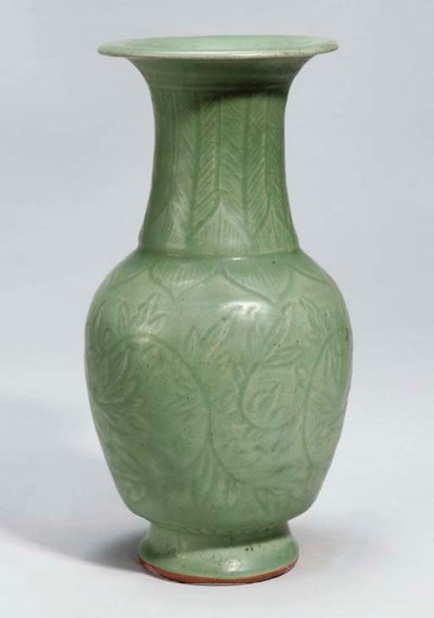 A Chinese 'Longquan' celadon y