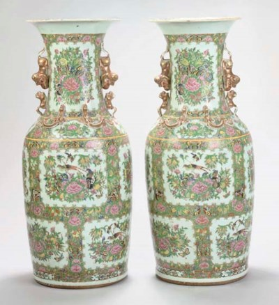 A pair of large Cantonese balu