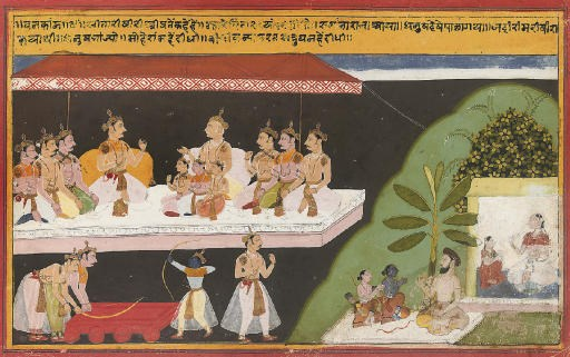 SCENES FROM THE LIFE OF KRISHN